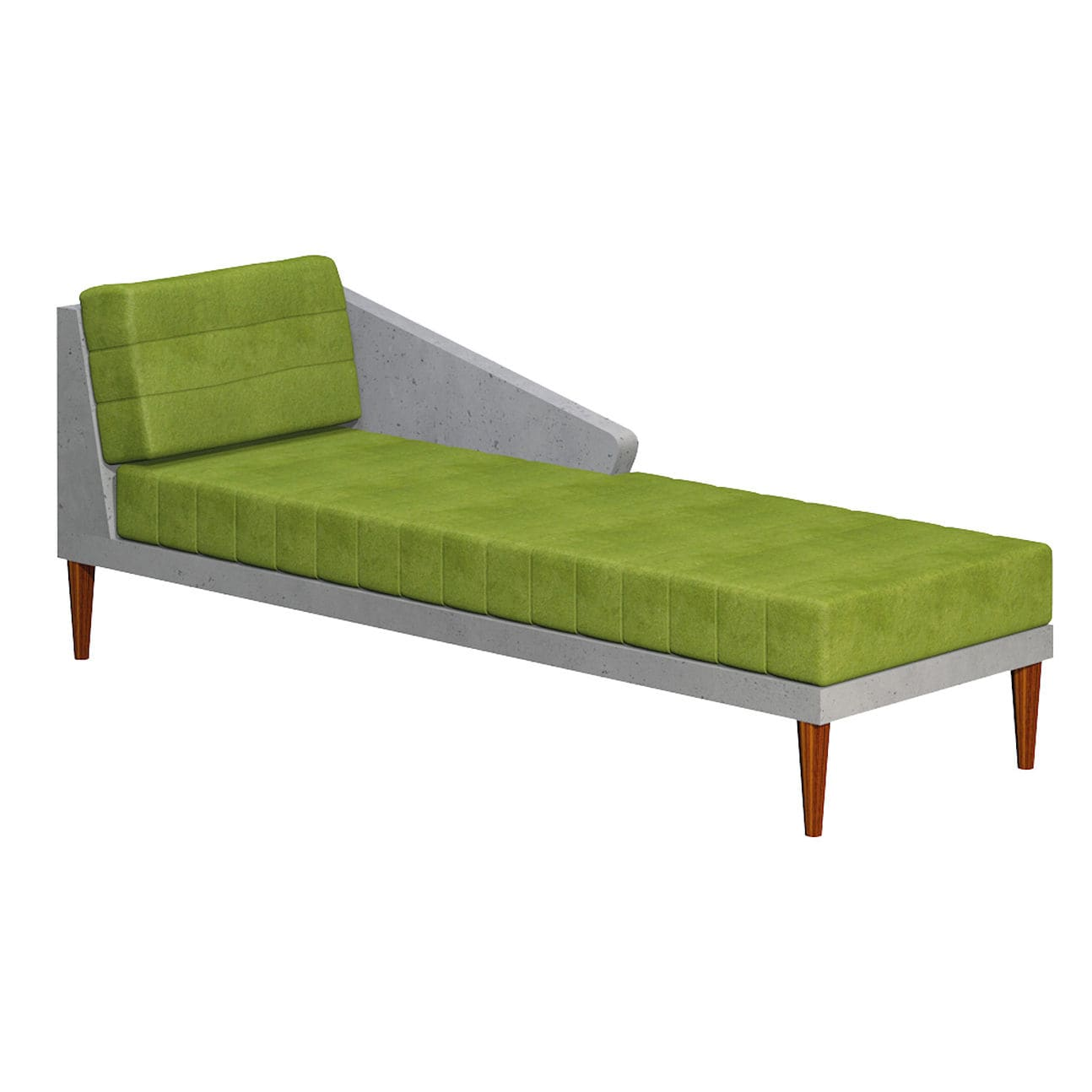 Sensational Contemporary Sun Lounger Fabric Concrete Timeless Ncnpc Chair Design For Home Ncnpcorg