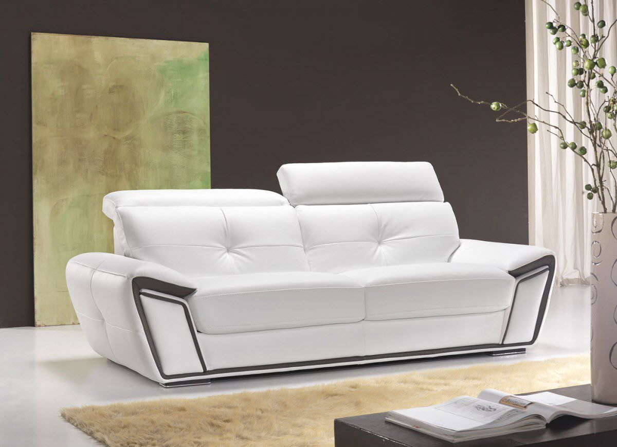 Modular Sofa Contemporary Leather 2 Person Oxigene Vama