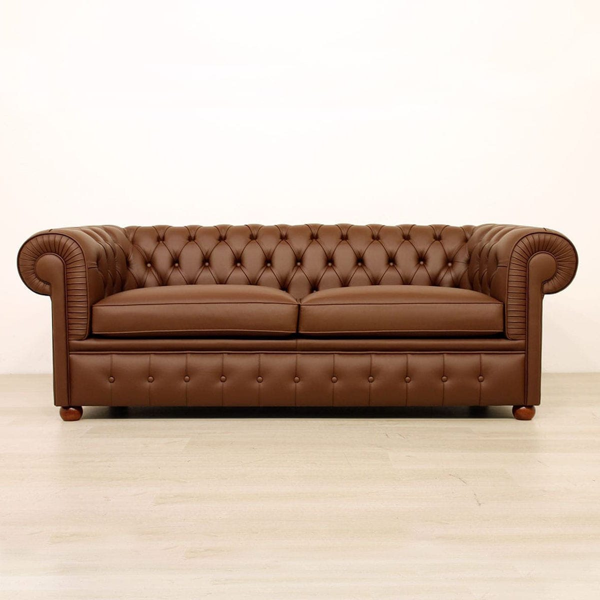 Chesterfield Sofa Fabric Leather