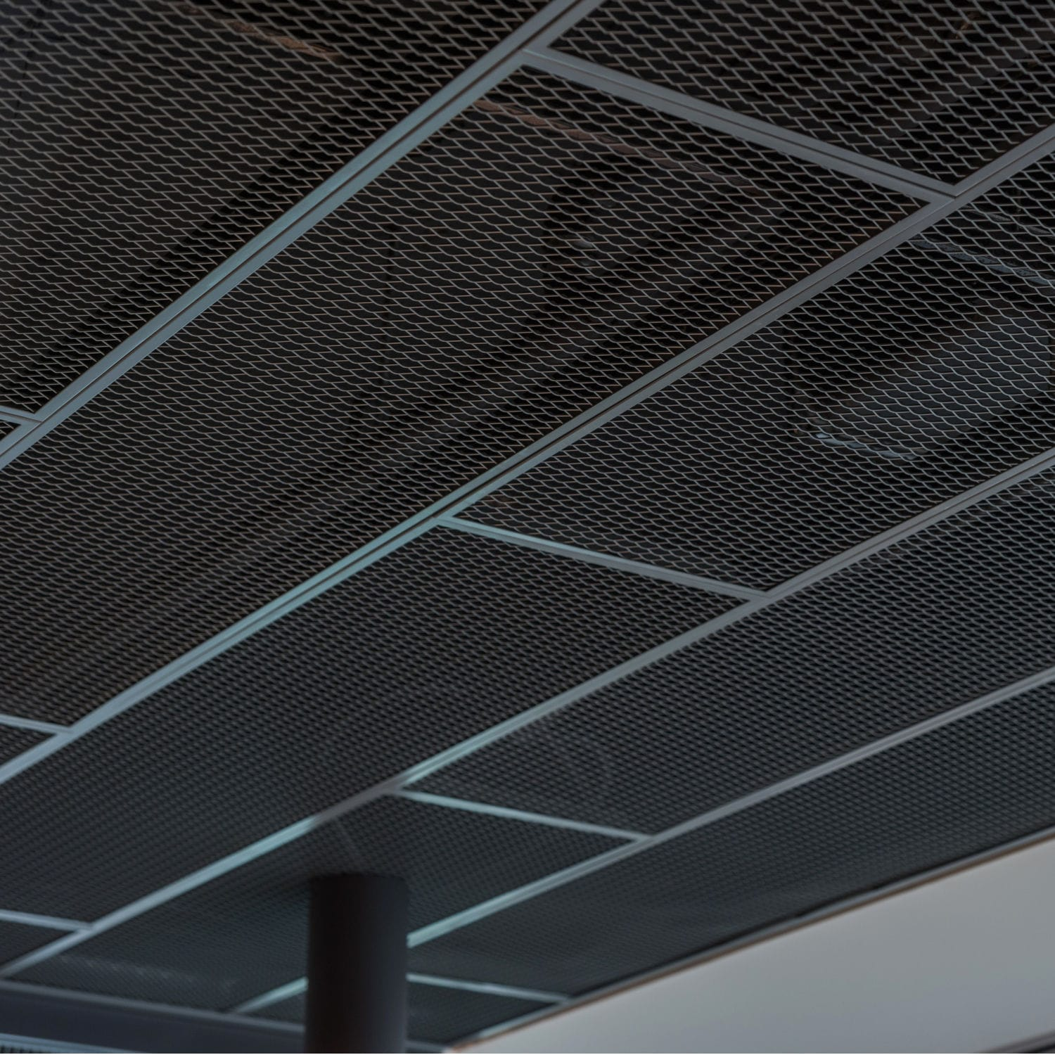 Wire Mesh Suspended Ceiling Expanded