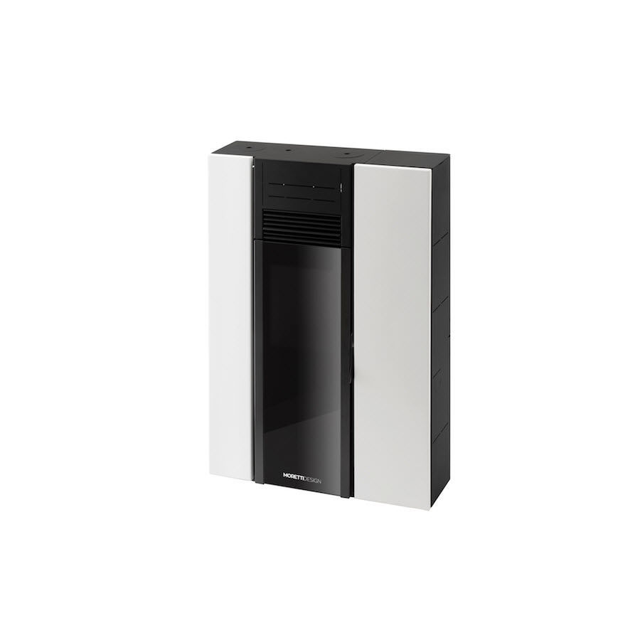 Pellet heating stove / metal / contemporary / 0 - 5 kW - C8 ...