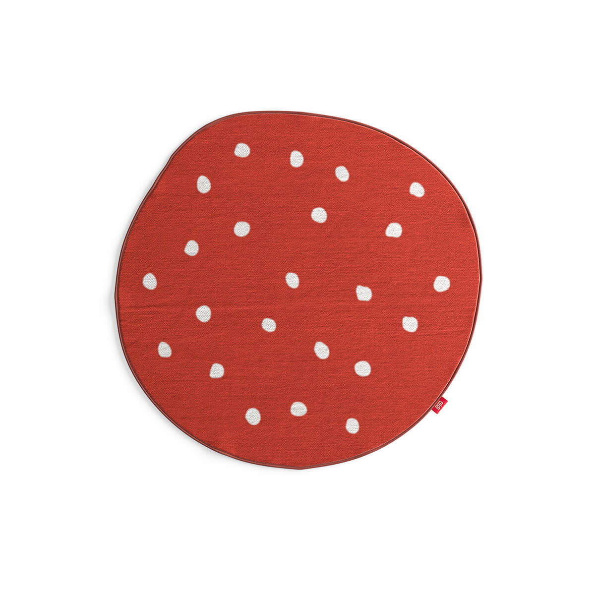 Contemporary Rug Patterned Round Child S Mushroom Nidi