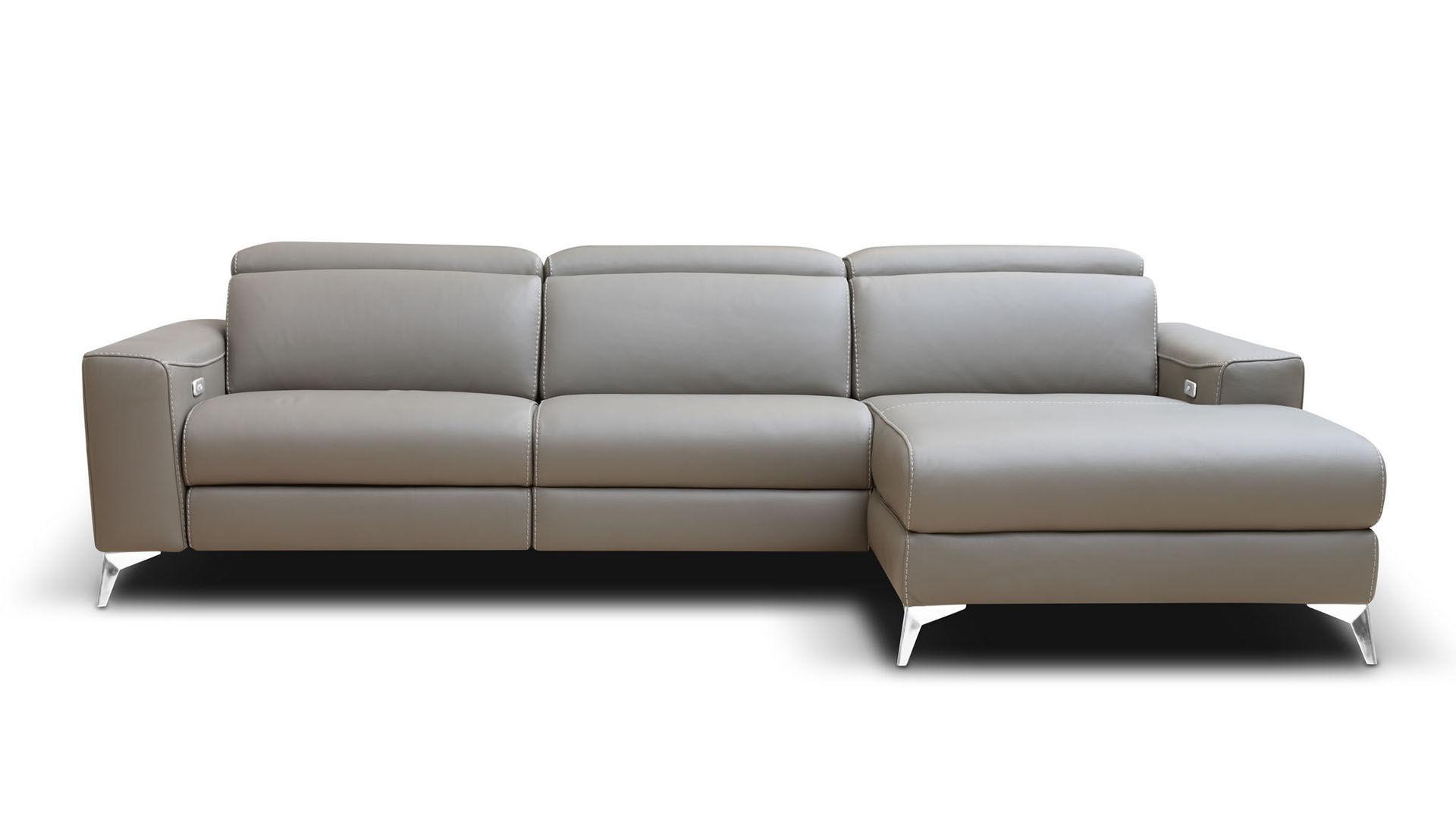Modular Sofa Contemporary Leather Reclining Emma
