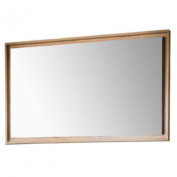 Wall Mounted Bathroom Mirror Bdr Har, Oak Framed Bathroom Mirrors