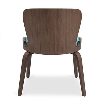 Contemporary Dining Chair Stackable Wooden Contract