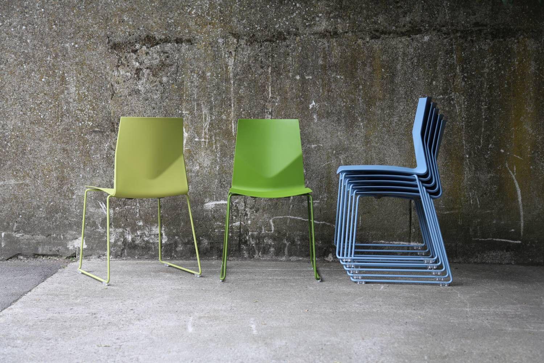 Upholstered Auditorium Seat Ergonomic Stackable Fabric