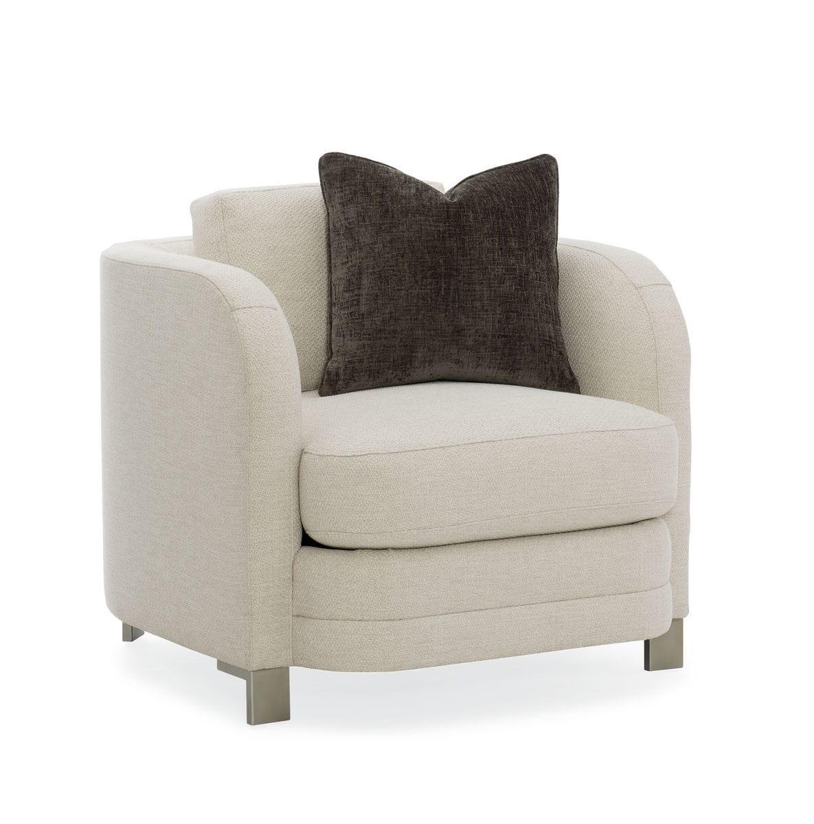 Astounding Contemporary Armchair Fabric Lacquered Metal Standard Creativecarmelina Interior Chair Design Creativecarmelinacom