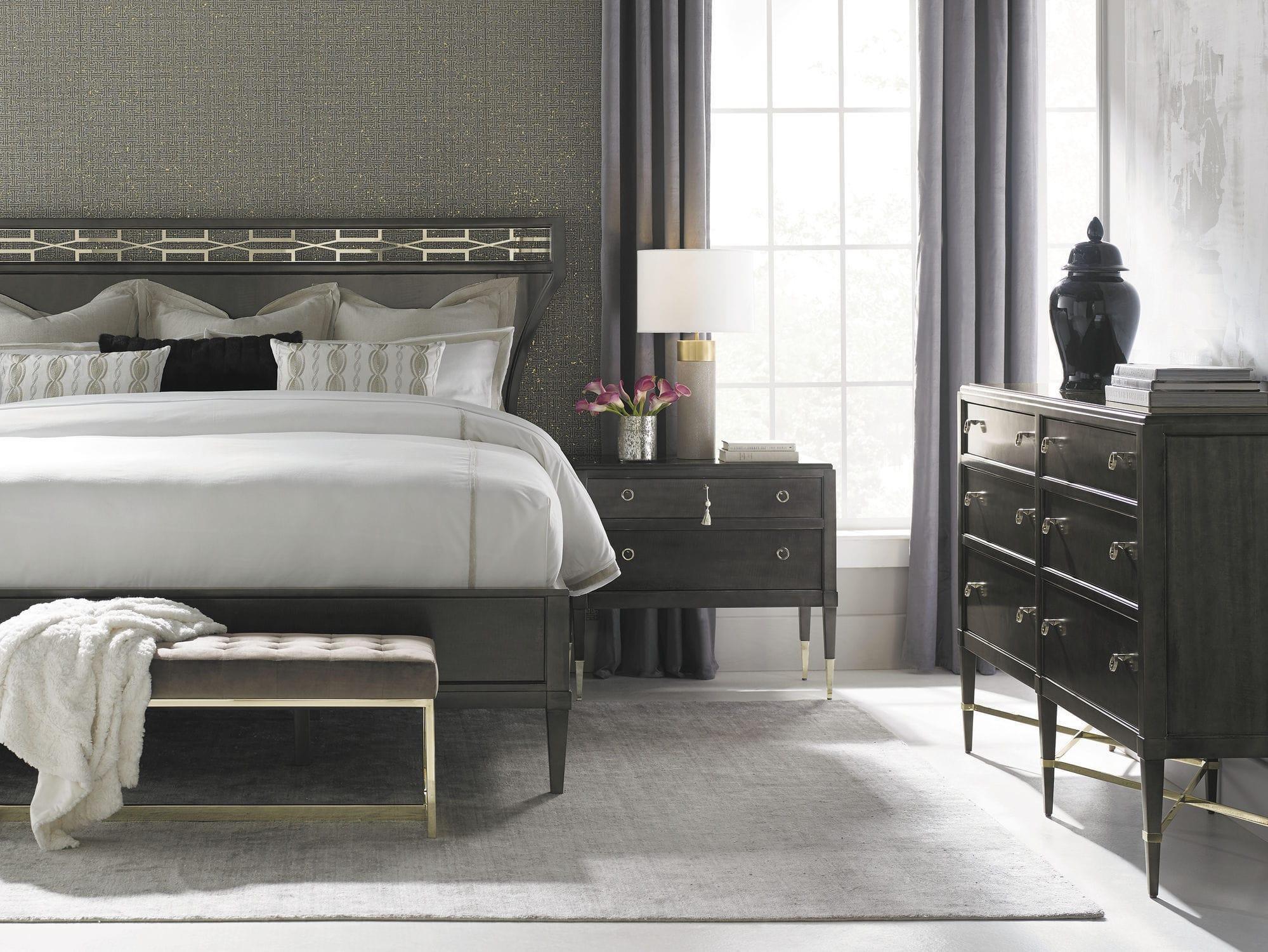 Astonishing Contemporary Upholstered Bench Velvet Gold Plated Inzonedesignstudio Interior Chair Design Inzonedesignstudiocom