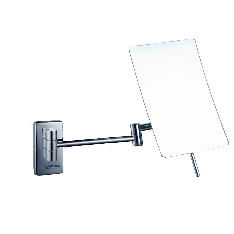 Wall Mounted Bathroom Mirror Magnifying Swivel