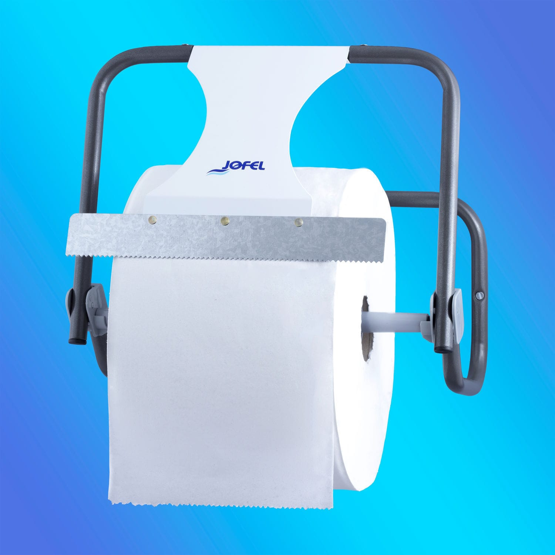 Wall Mounted Toilet Paper Dispenser Ad10000 Jofel Industrial S A Steel For Restaurants