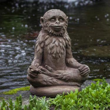 Stone sculpture / outdoor - DOOBIE - CAMPANIA INTERNATIONAL