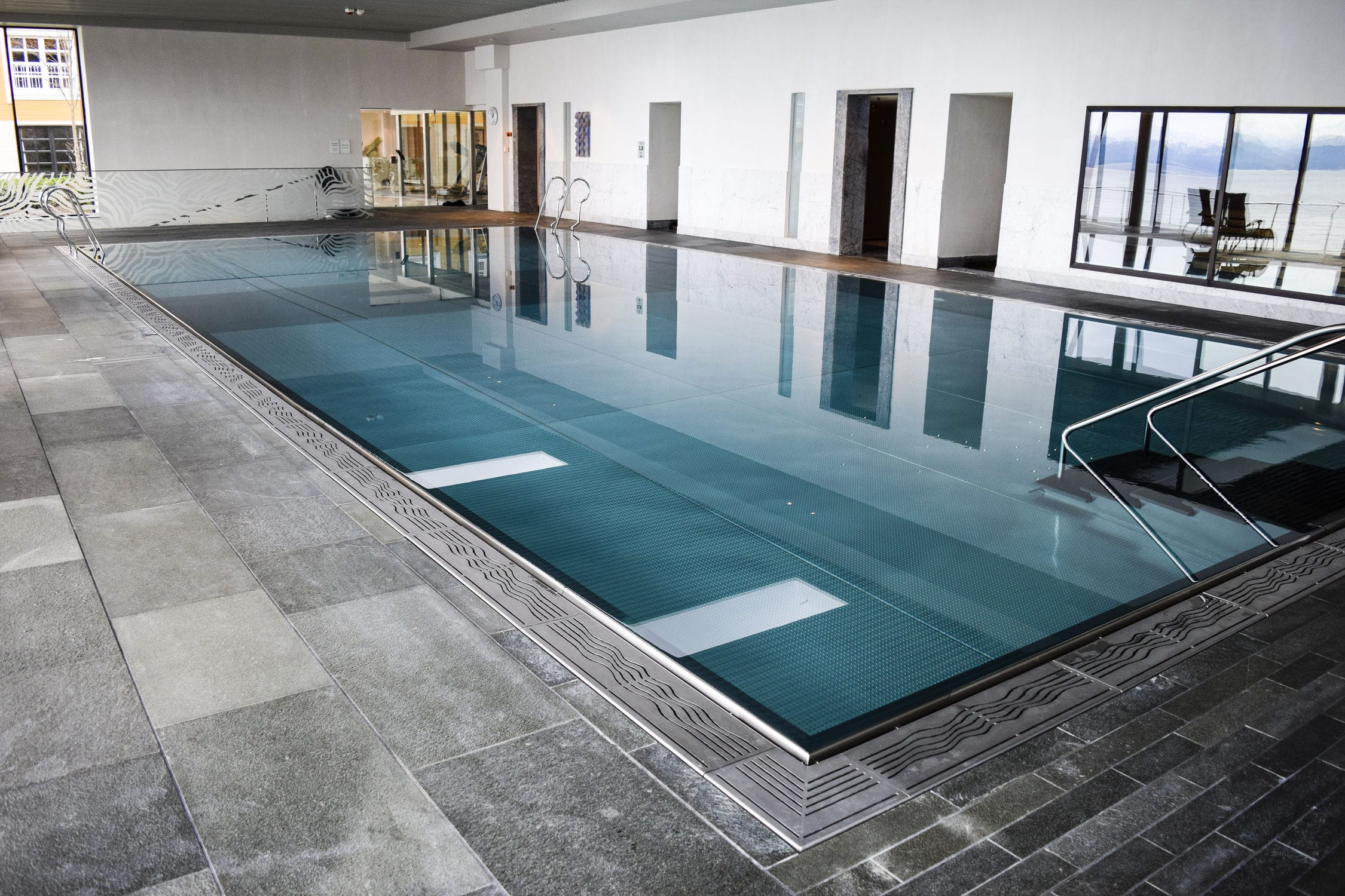 Piscine En Inox Steel And Style self-supporting swimming pool / in-ground / stainless steel