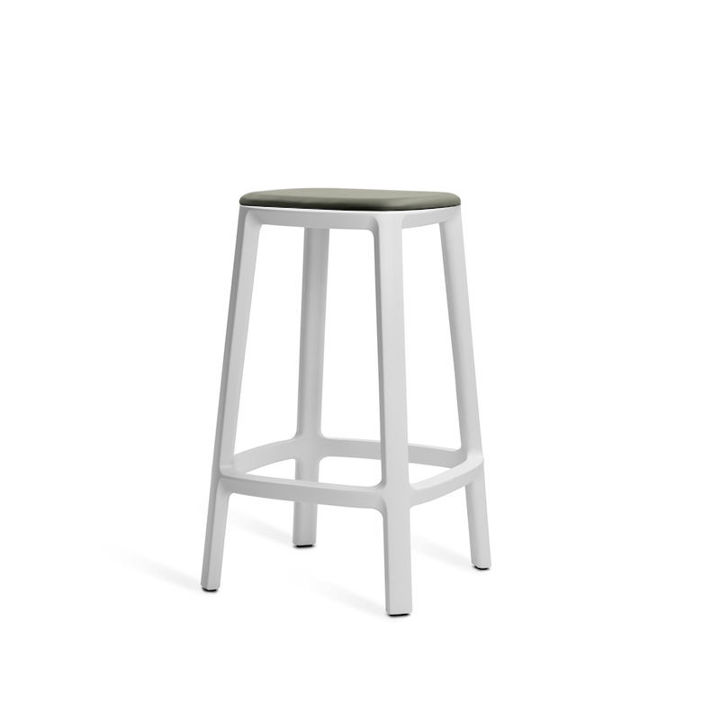 Cool Contemporary Bar Stool Leather Polypropylene Contract Gmtry Best Dining Table And Chair Ideas Images Gmtryco