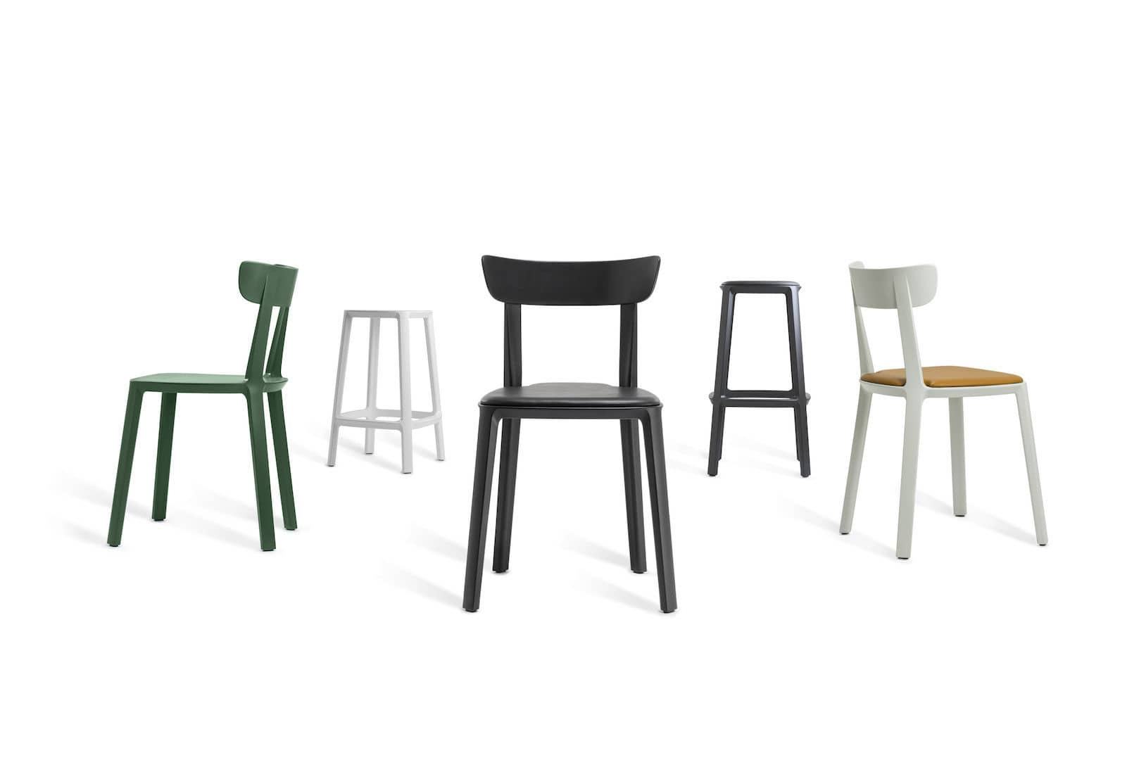 Marvelous Contemporary Bar Stool Leather Polypropylene Contract Gmtry Best Dining Table And Chair Ideas Images Gmtryco
