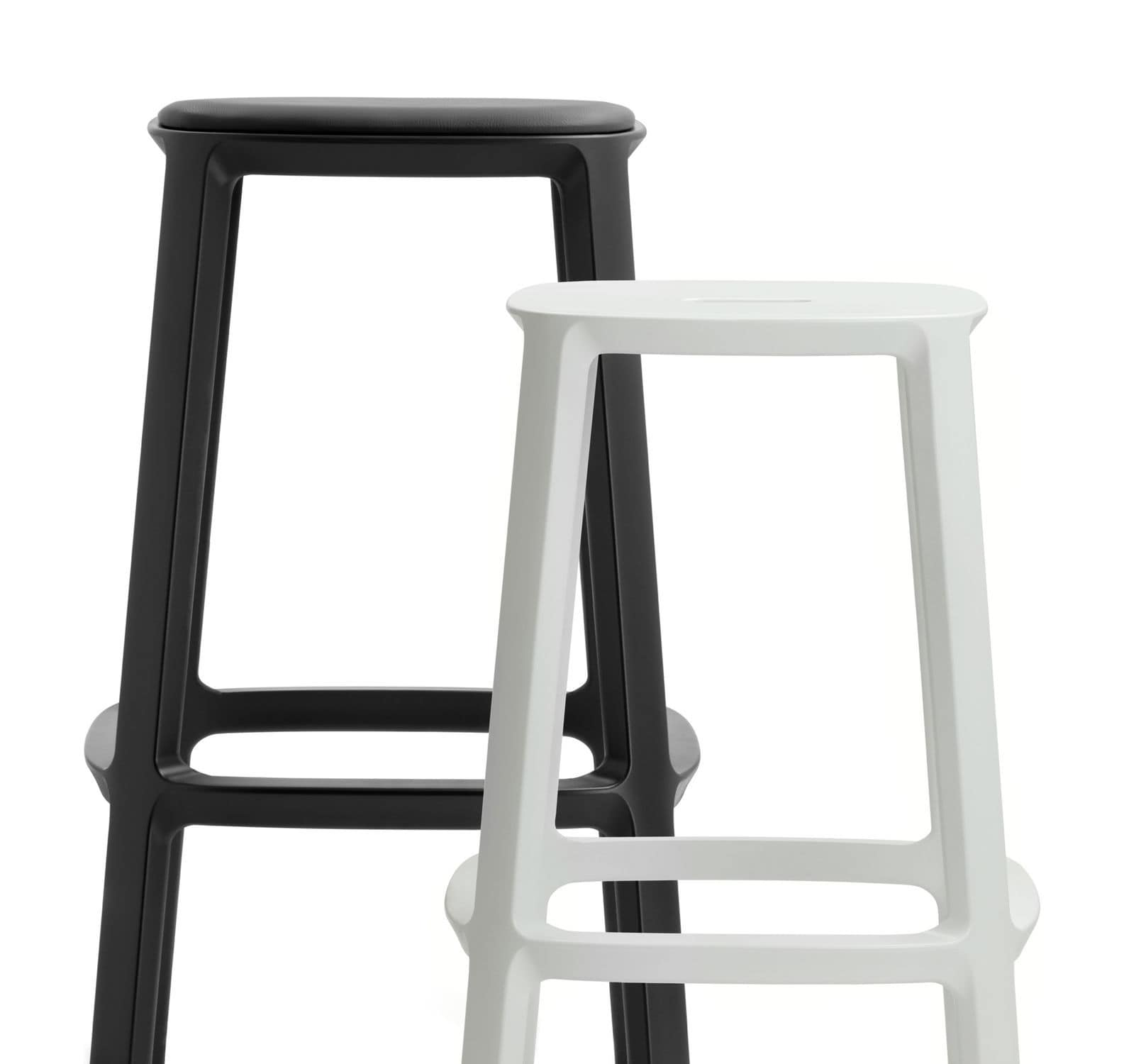 Super Contemporary Bar Stool Leather Polypropylene Contract Gmtry Best Dining Table And Chair Ideas Images Gmtryco