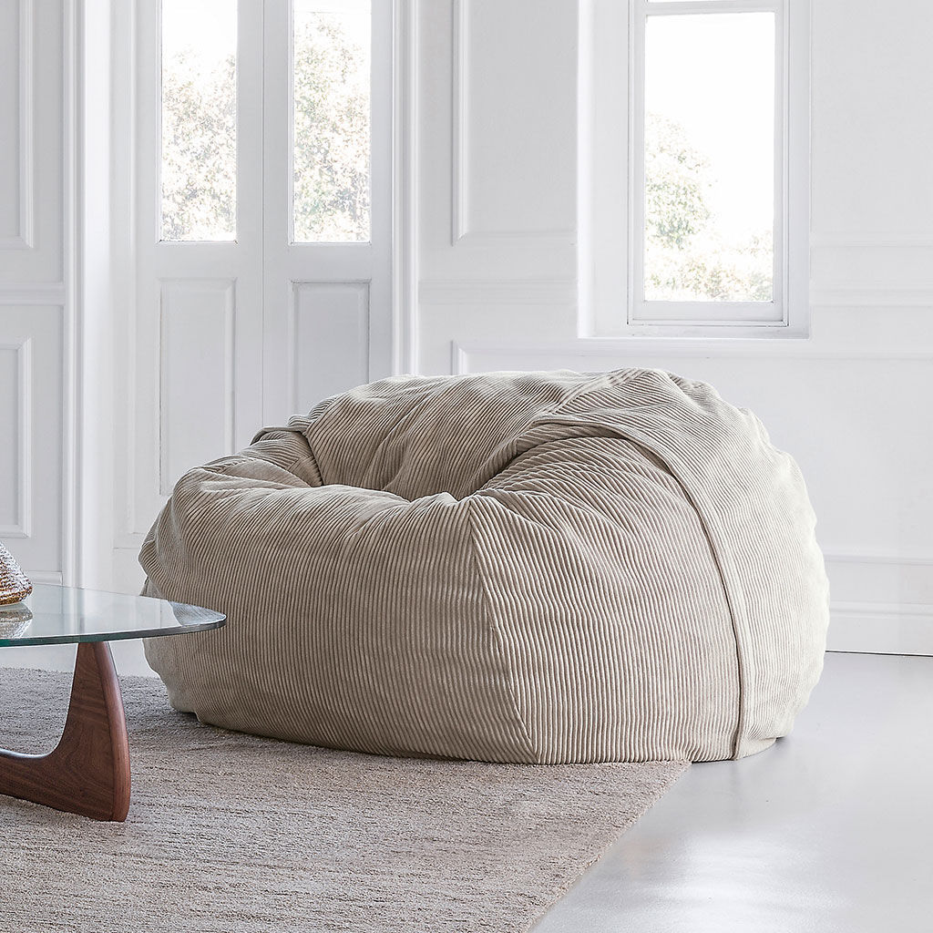 Pleasing Contemporary Bean Bag Fabric Childs Gray Large Caraccident5 Cool Chair Designs And Ideas Caraccident5Info