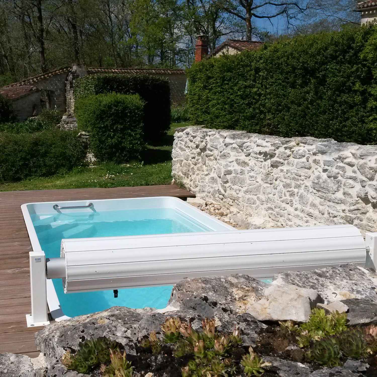 One-piece swimming pool / in-ground / acrylic / commercial ...