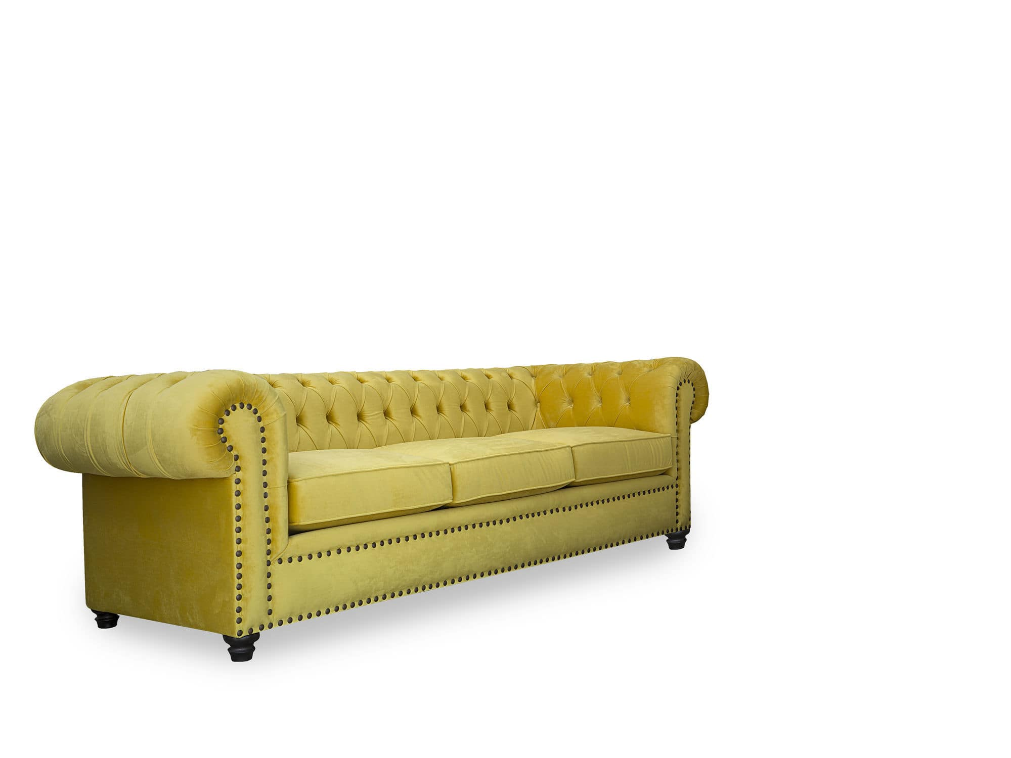 Chesterfield Sofa Living Room Fabric Leather Chester