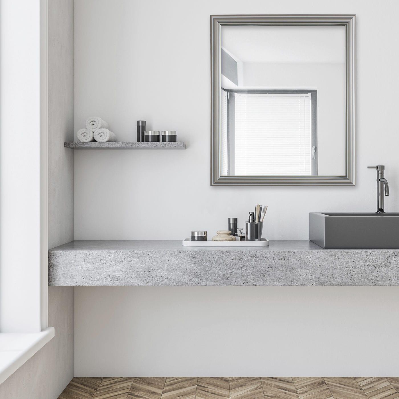 Wall Mounted Bathroom Mirror Palace Light Top Light Gmbh Co Kg Led Illuminated Contemporary Rectangular