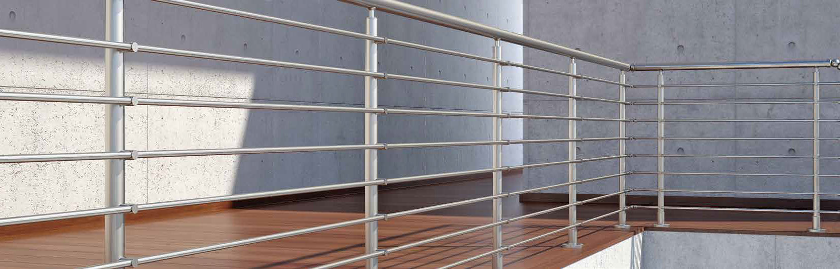 Aluminum profile / for balconies / for railing - F50 ACCORD