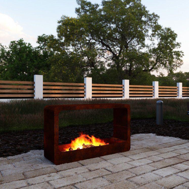Wood Burning Fire Pit Cosi Cube Nov
