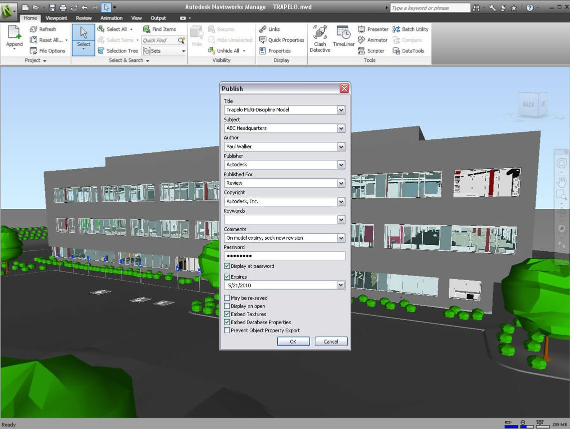 Project simulation software / architecture / for steel