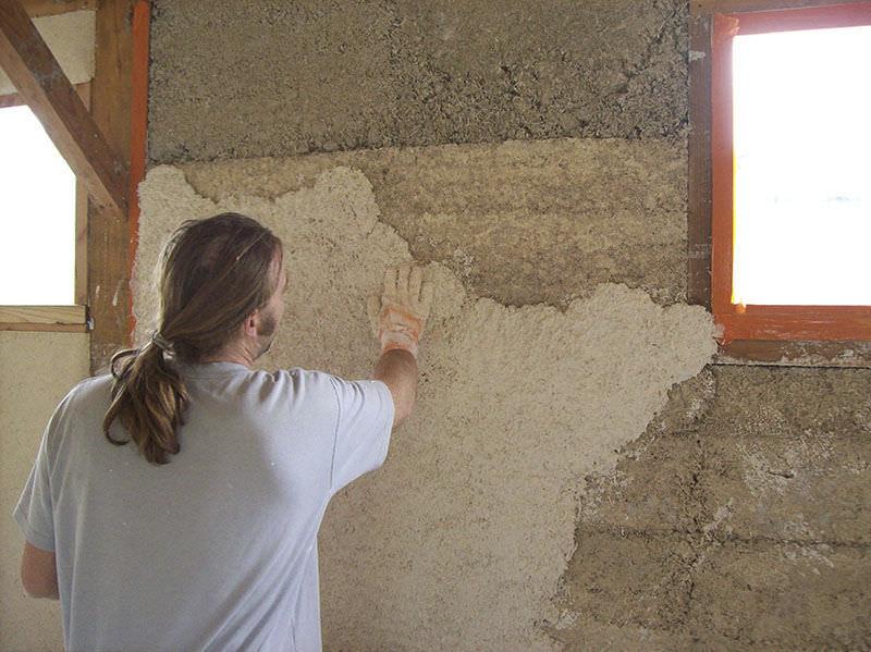 Insulating coating / indoor / wall / hemp-based - C 015