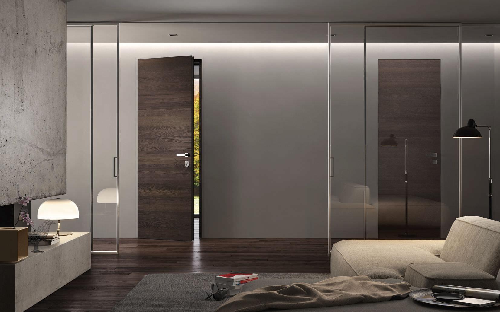 Armadio Raso Muro closet door - sovrana filomuro + bisystem - garofoli - for