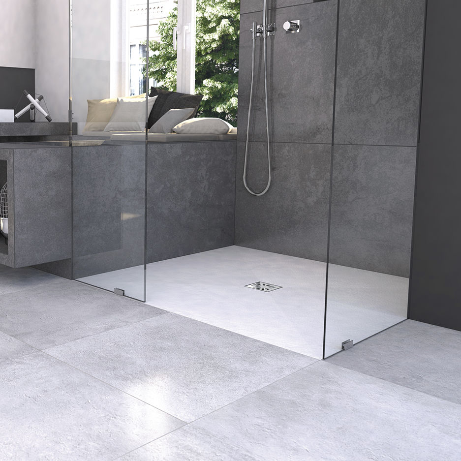 Rectangular Shower Base Fundo Top