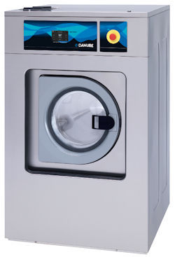 Front-loading washer-extractor / floor-mounted / commercial