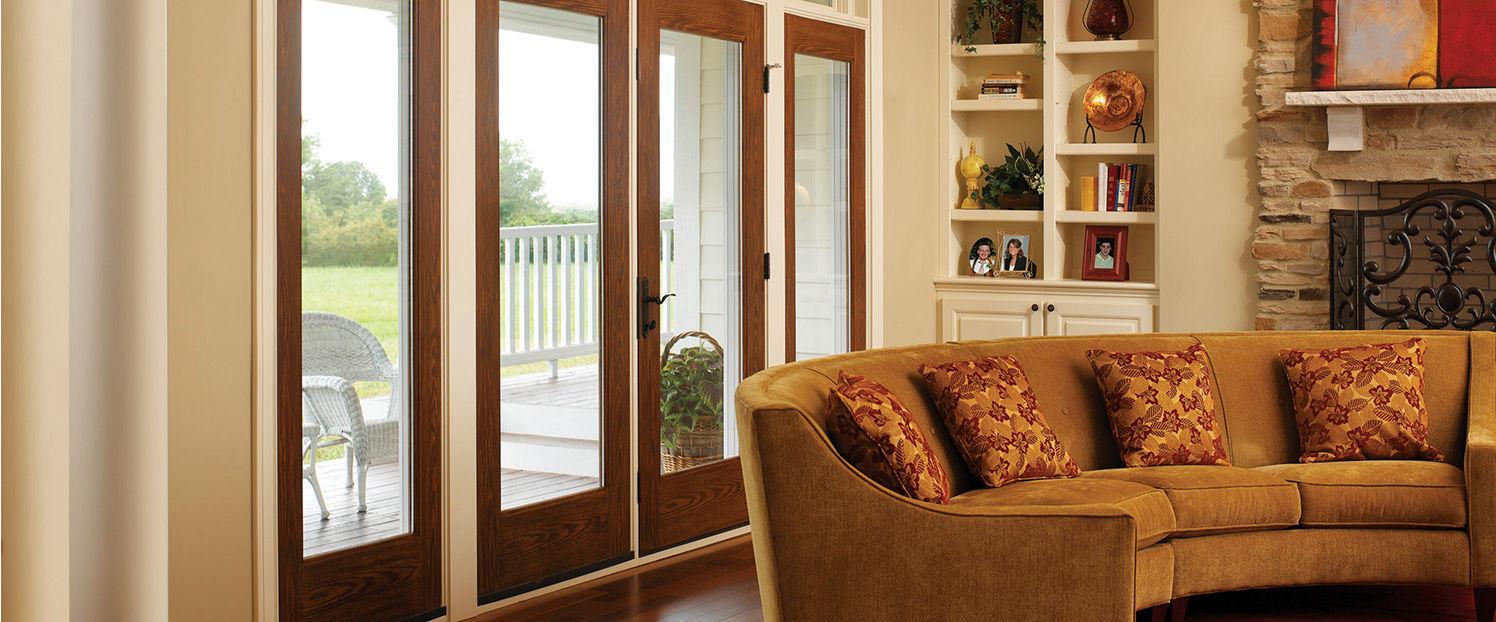 Swing French Door Fibergl Double Glazed