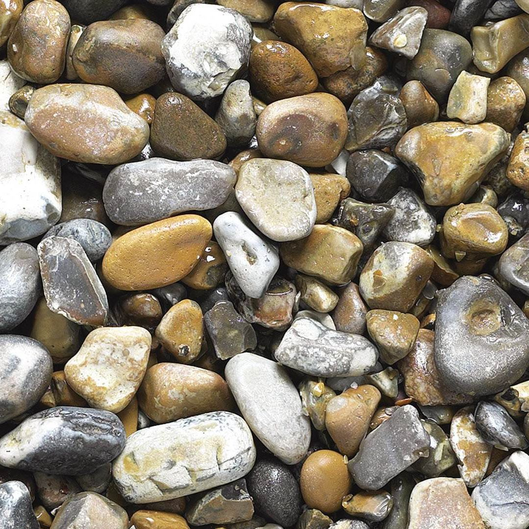 Volcanic Stone Gravel Oyster Pearl Tarmac Building Products