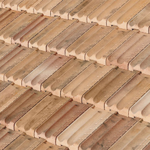 French roof tile / clay / aged - LITORAL - TEJAS BORJA