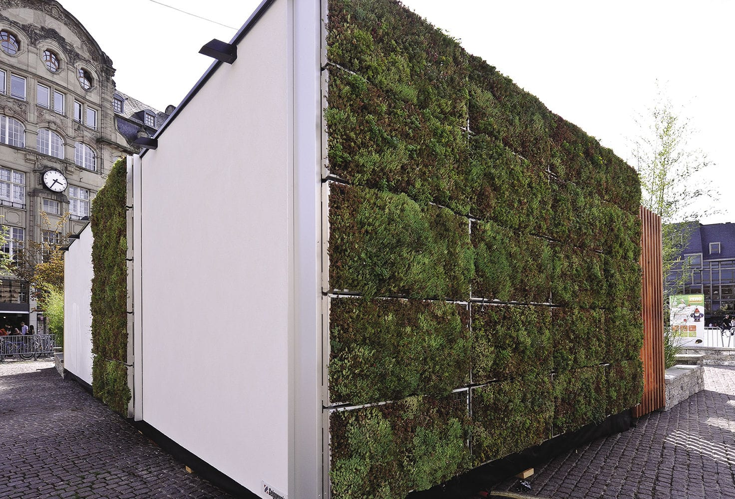 Mur Vegetal En Kit outdoor green wall / modular - sopranature® vivagreen® - soprema