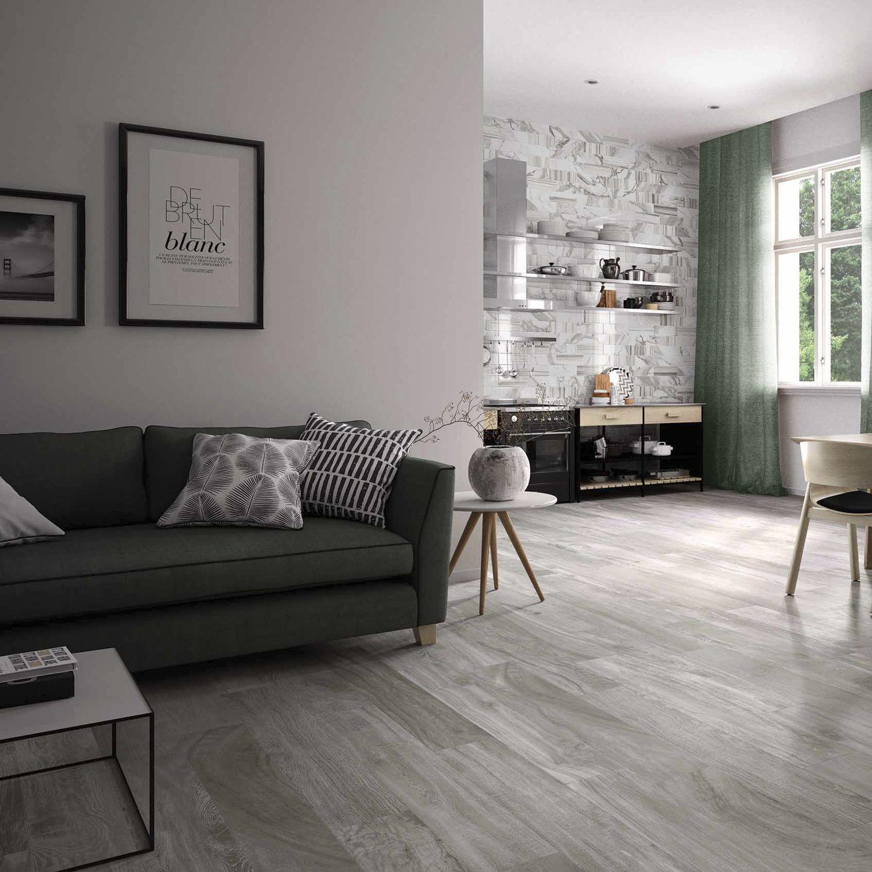 Indoor Tile Wall Floor Porcelain Circle Wood Rak Ceramics