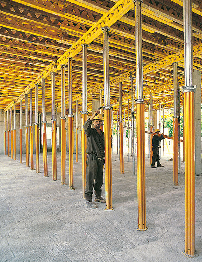 Modular formwork / metal / for floors - MULTIFLEX - PERI S A S