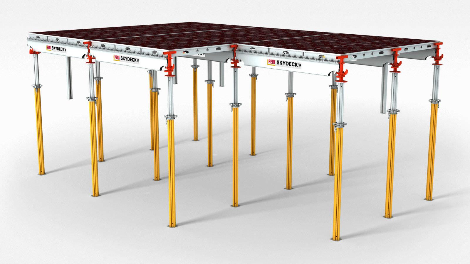 Frame formwork / aluminum / for floors - SKYDECK - PERI S A S