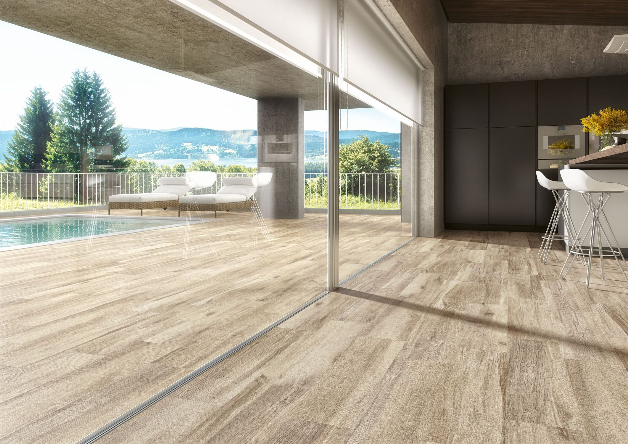 Carrelage Imitation Parquet 30X60 indoor tile / outdoor / wall / floor - coolwood - pavigres
