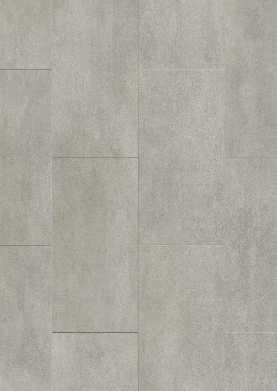 Vinyl Flooring Residential Tile High Gloss Warm Grey Concrete V2120 40050