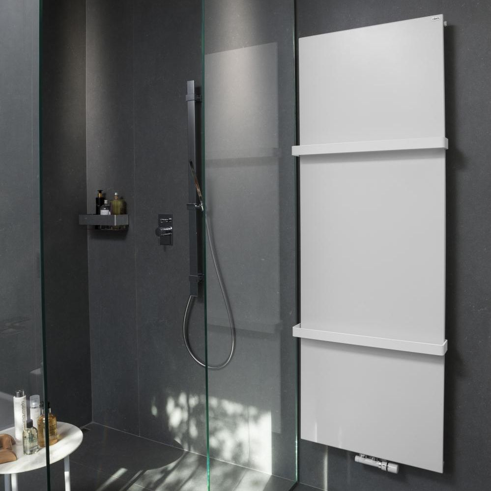 Hot Water Towel Radiator Electric Steel Contemporary Ice