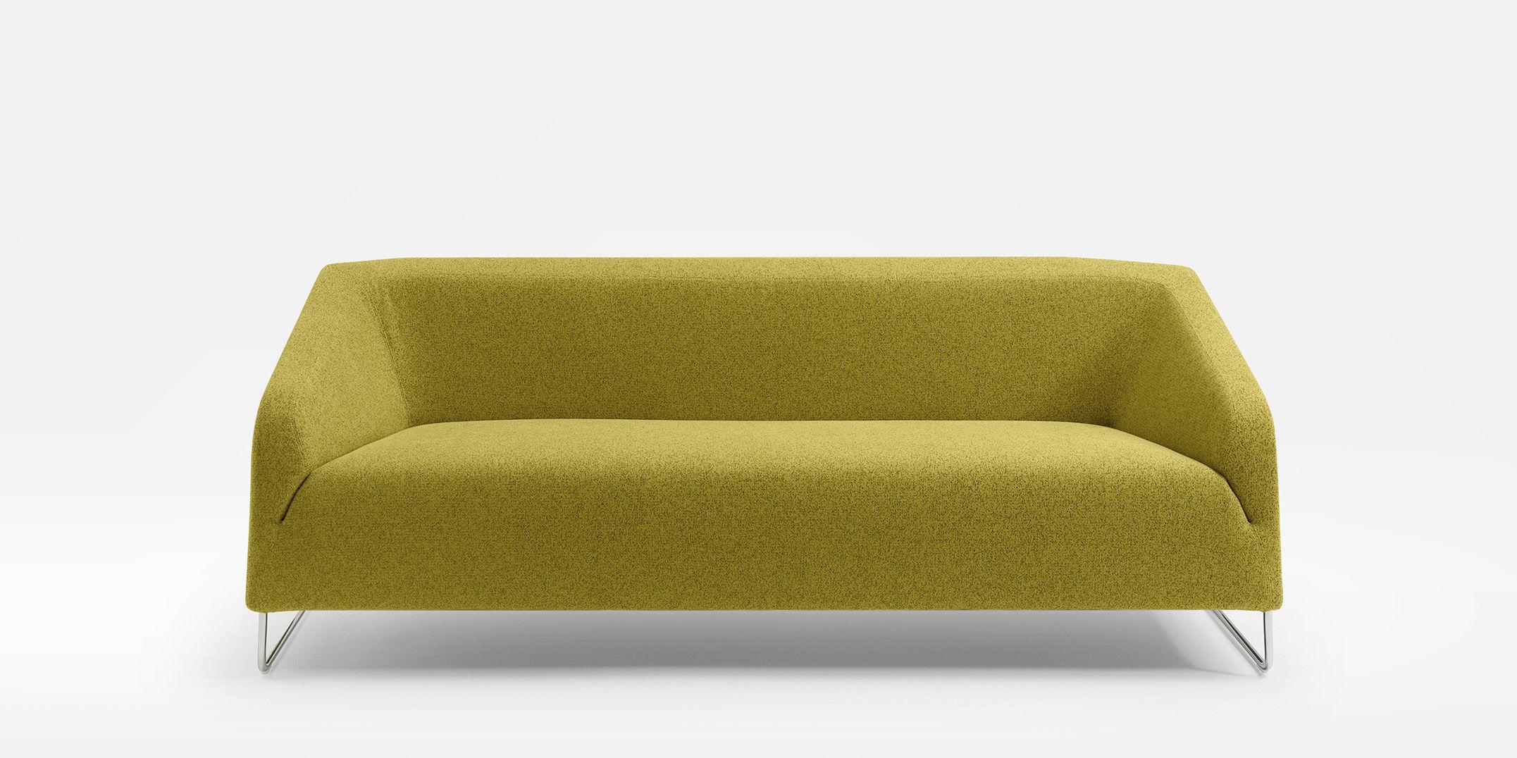 Stupendous Compact Sofa Contemporary Leather Fabric Diva By Machost Co Dining Chair Design Ideas Machostcouk