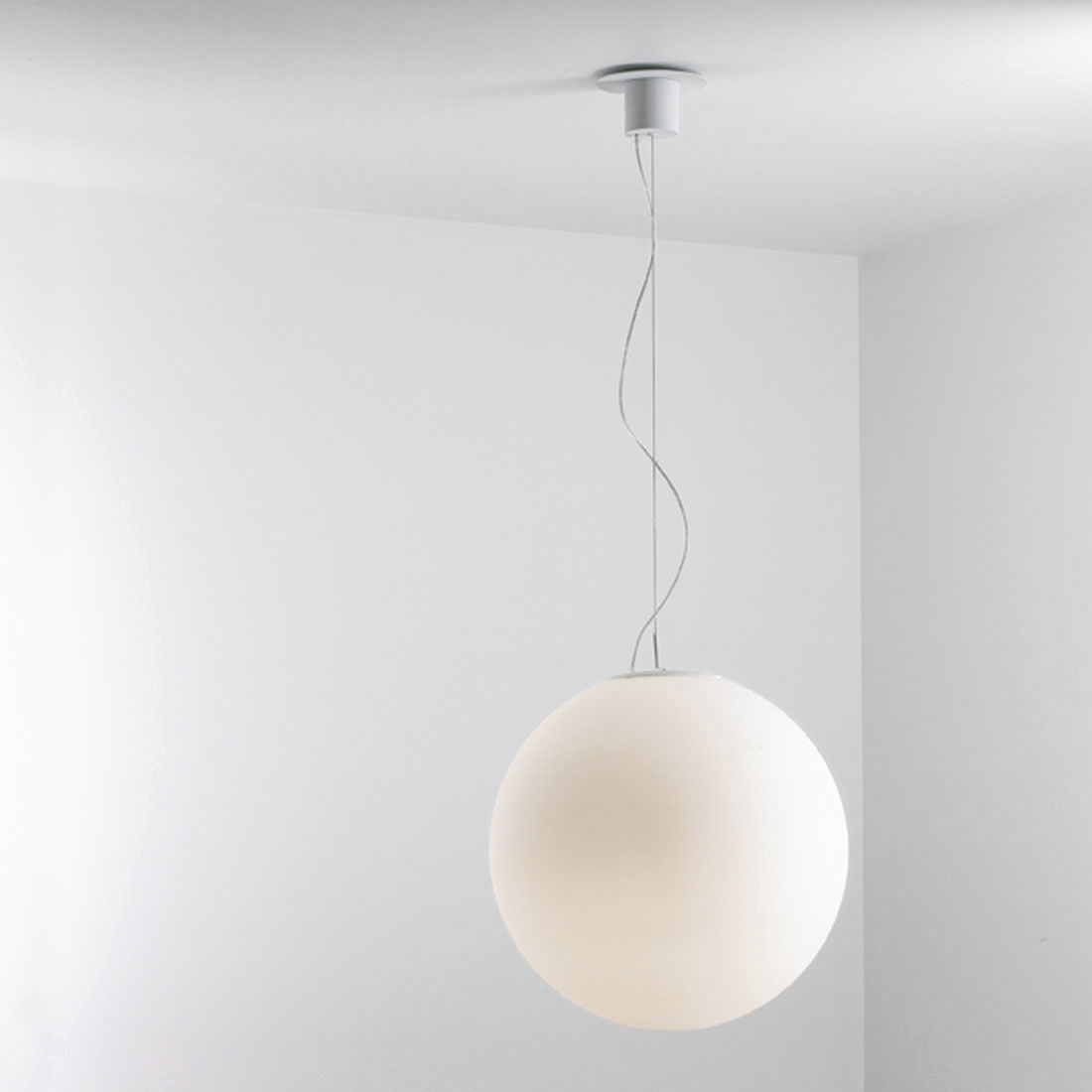 Pendant Lamp Contemporary Murano Gl Led Globe By Jan Van Lierde