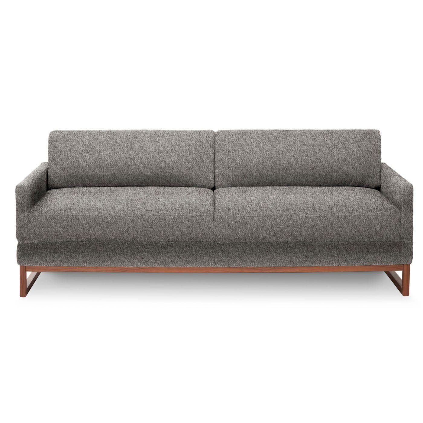 sofa bed / contemporary / fabric / beige