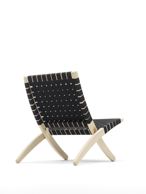Contemporary Armchair Wicker Folding Mg501 By Morten