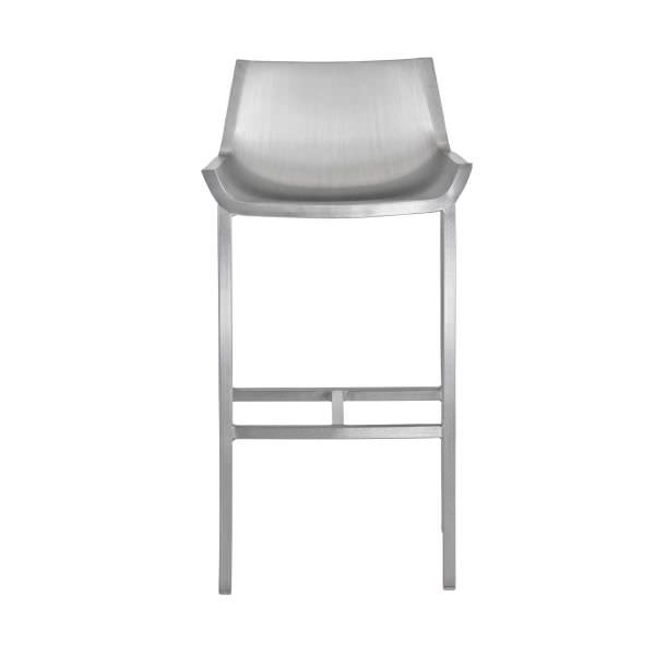 Contemporary Bar Stool Aluminum Made From Recycled