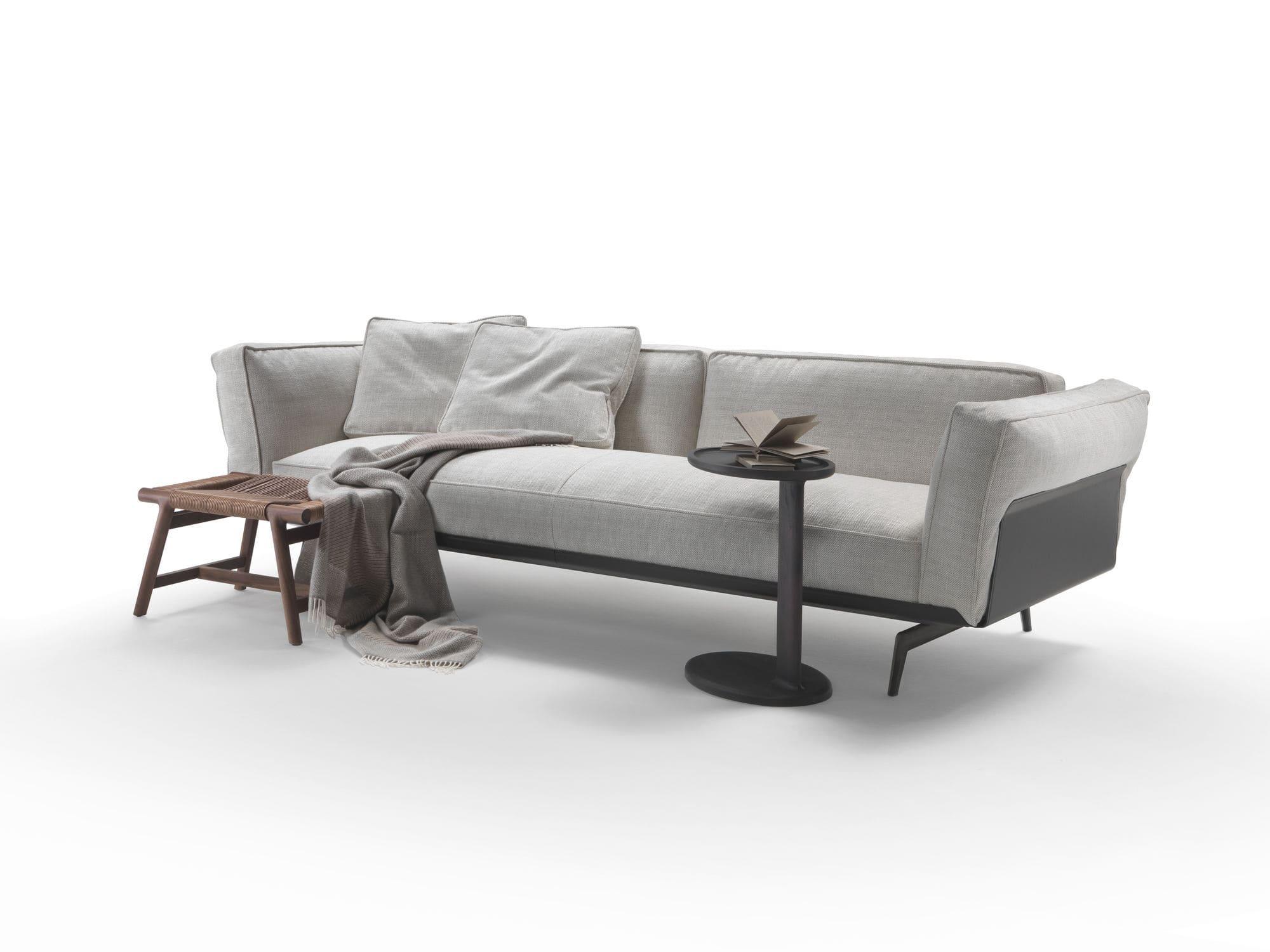 Modular sofa contemporary fabric leather ESTE FLEXFORM