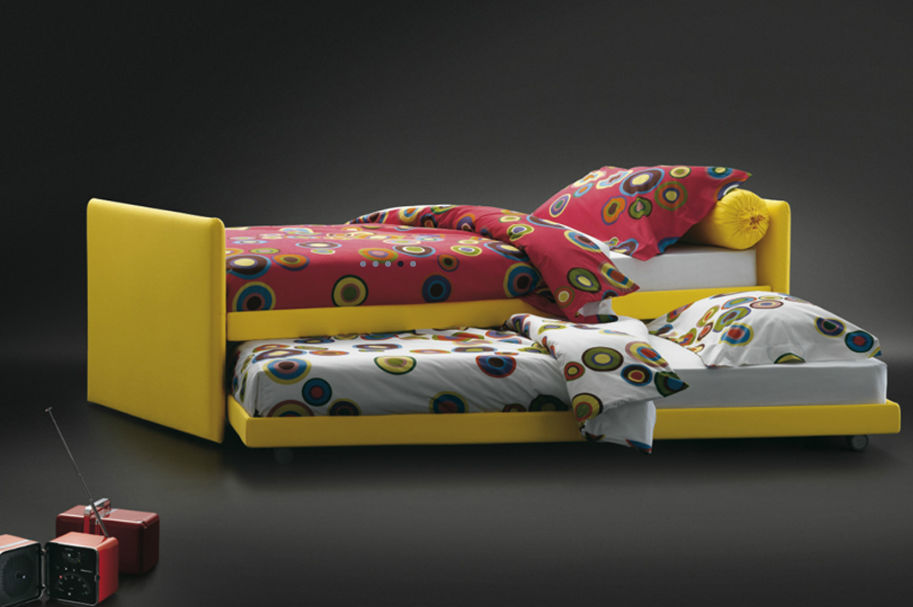 Pleasant Pull Out Bed Single Contemporary With Drawer Duetto Beutiful Home Inspiration Papxelindsey Bellcom