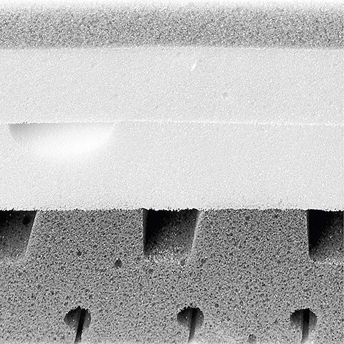 Bayscent Neutralizer Materassi.Double Mattress Adaptive Top Sense Flou Memory 120x190 Cm