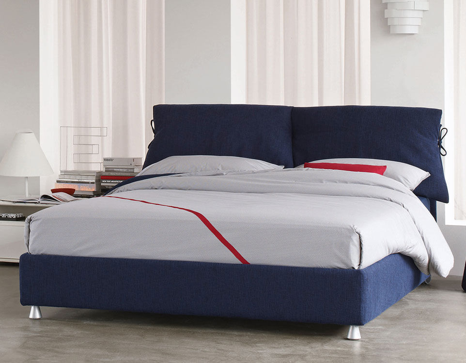 Letto Matrimoniale Flou Tadao.Double Bed Nathalie Flou Contemporary Upholstered With