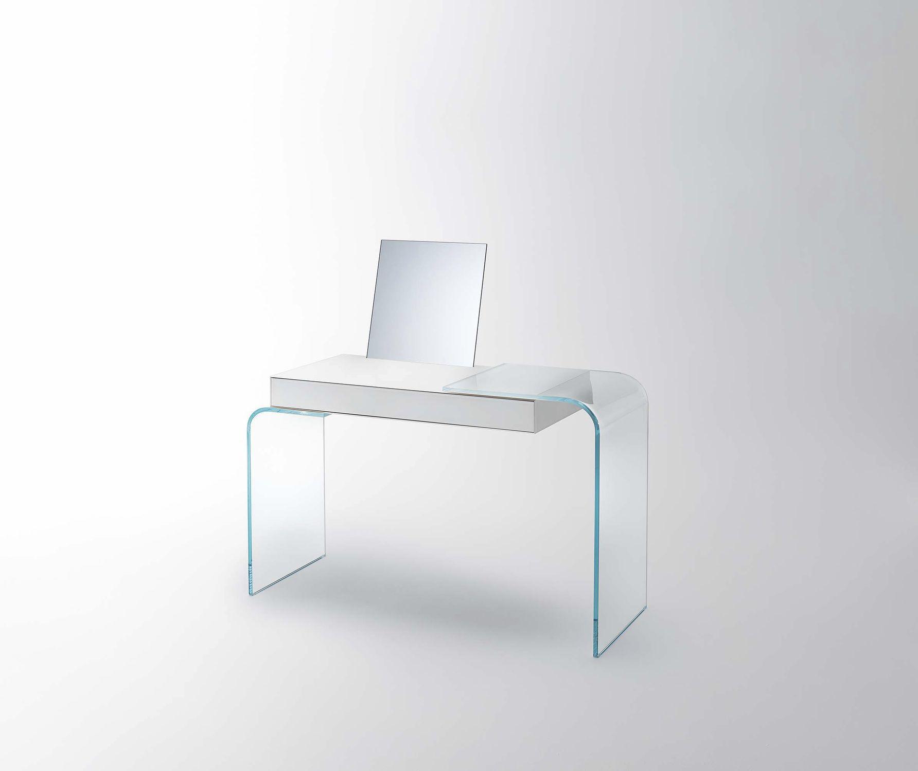 Glass Desk Strata Glas Italia Contemporary Contract